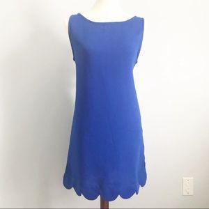 Mittoshop Scalloped Shift Dress